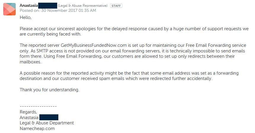 Smartypants com Inc  - News - Update on Spam-Support Website